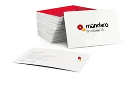 Quadratische Visitenkarten Günstig Online Bestellen Mandaro